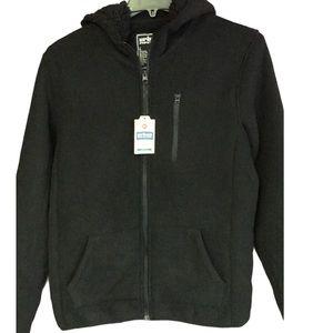 🆕Lg Urban Pipeline Zip-up Sweatshirt Hoodie Black